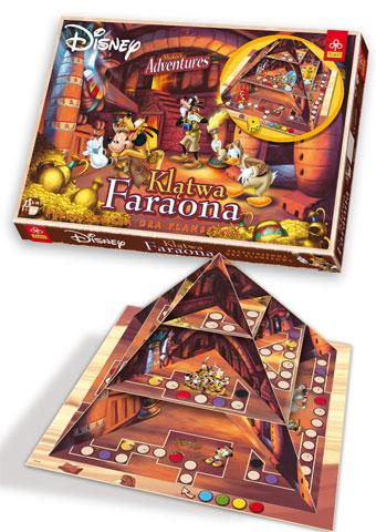 gry planszowe > dla dzieci > Klątwa Faraona