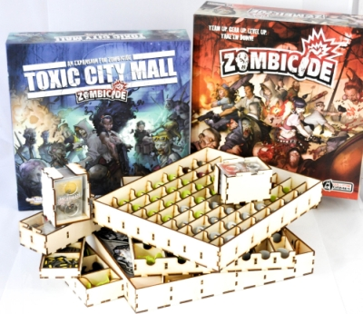 Insert do gry Zombicide i Toxic city mall