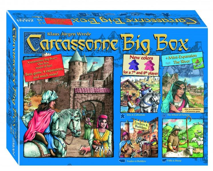Carcassonne Big Box 5 (edycja skandynawska)