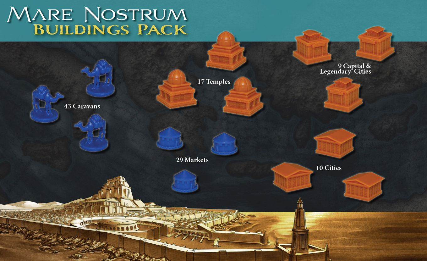 Mare Nostrum - Empires: Buildings Set