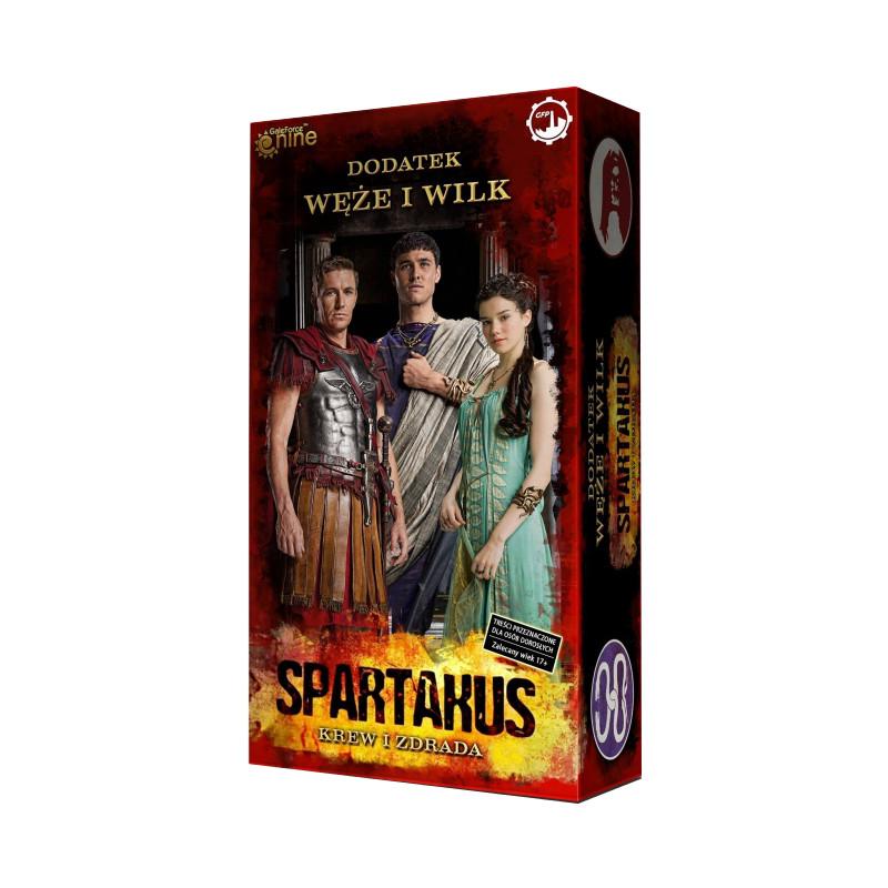 Spartakus: Węże i Wilki