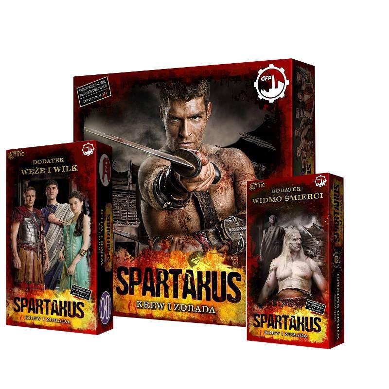 Spartakus (edycja wspieram.to) + dwa dodatki