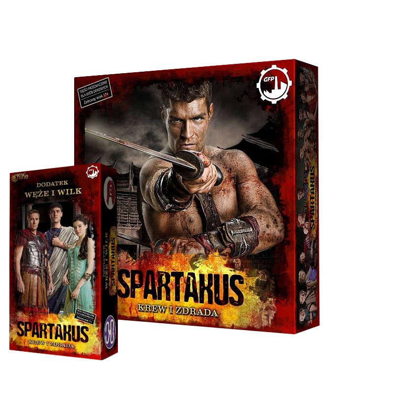 Zestaw Spartakus (ed. wspieram.to) + rozszerzenie Węże i wilki
