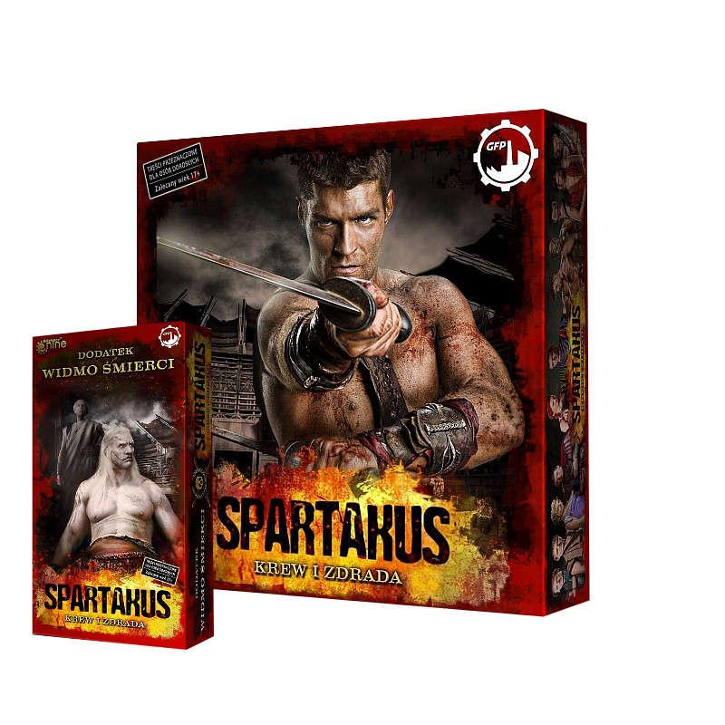 Zestaw Spartakus (ed. wspieram.to) + rozszerzenie Widmo śmierci
