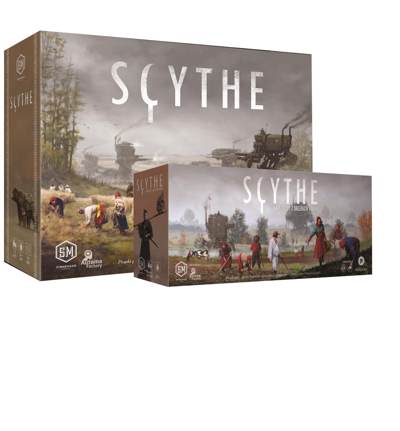 Zestaw Scythe + Najeźdźcy z dalekich krain