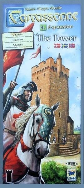 Carcassonne Wieża - 2. edycja (edycja skandynawska)