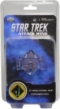 Star Trek Attack Wing: Dominion 5th Wing Patrol Ship Expansion