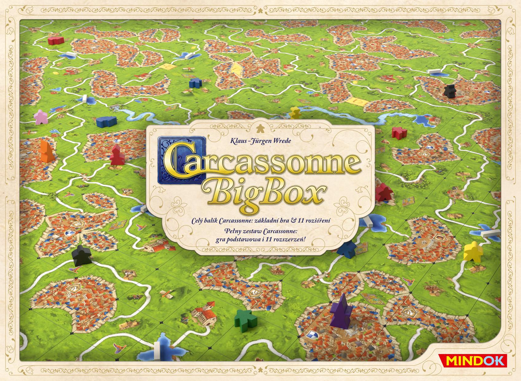 Carcassonne Big Box 6 (wersja polska)