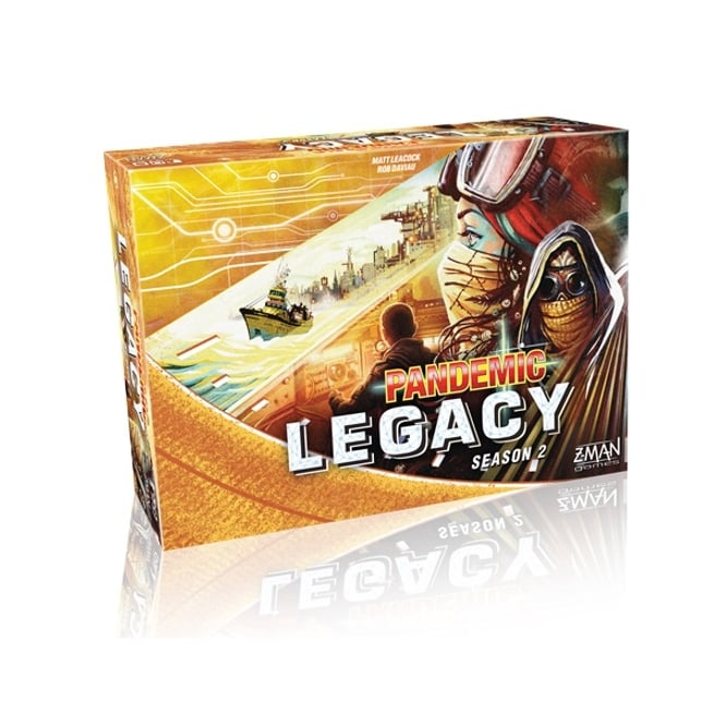 Pandemic Legacy Season 2 (Yellow Edition)