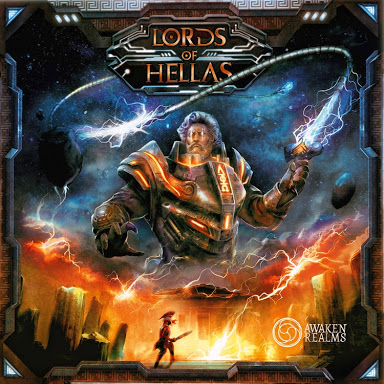 Lords of Hellas (edycja angielska)