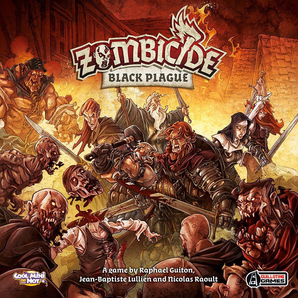 Zombicide: Black Plague (uszkodzony)