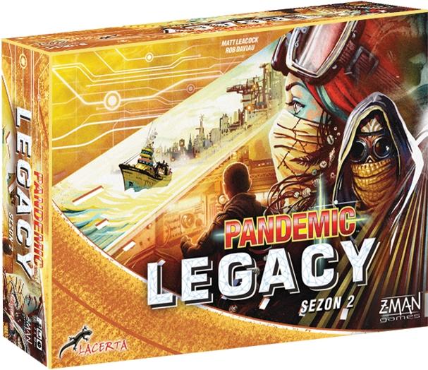 Pandemic Legacy - Sezon 2 - Edycja żółta