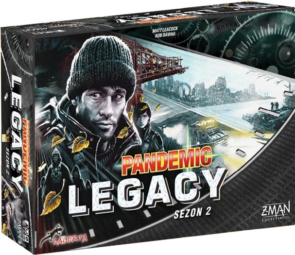 Pandemic Legacy - Sezon 2 - Edycja czarna