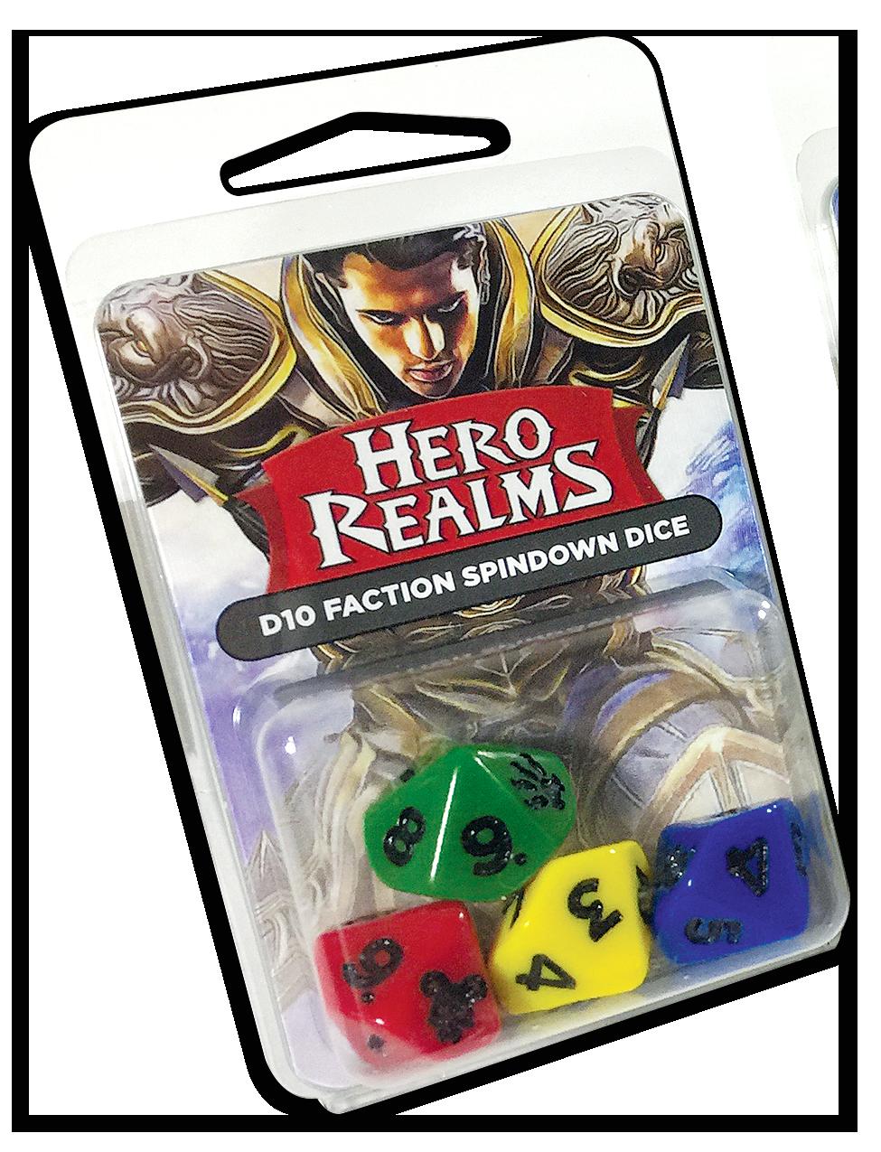 Kości k10 - Hero Realms