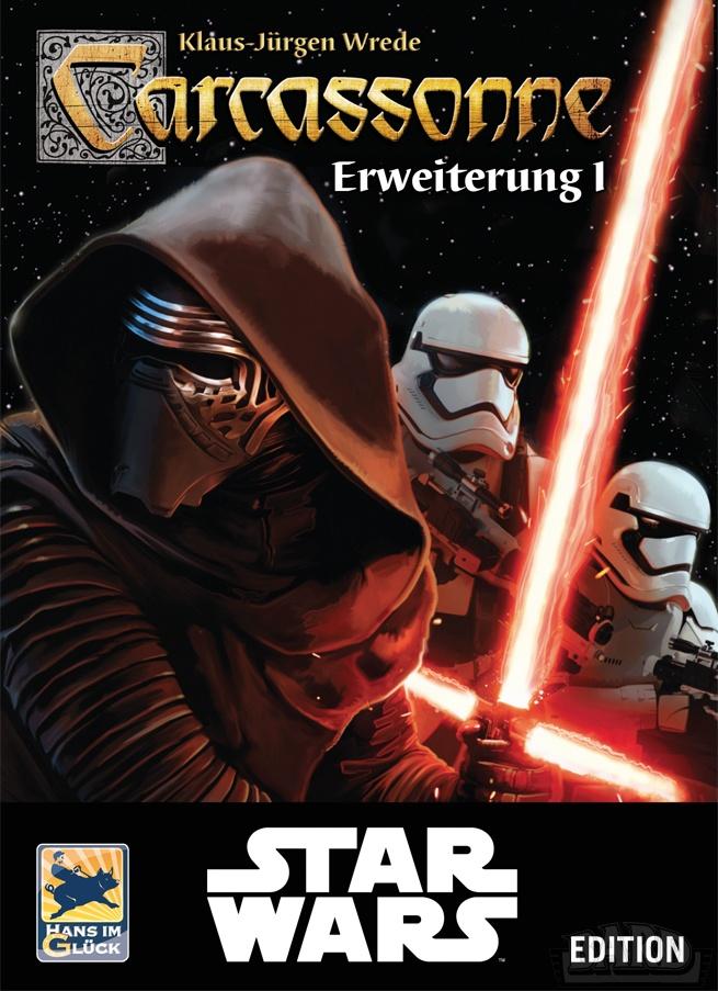 Carcassonne Star Wars: Rozszerzenie 1