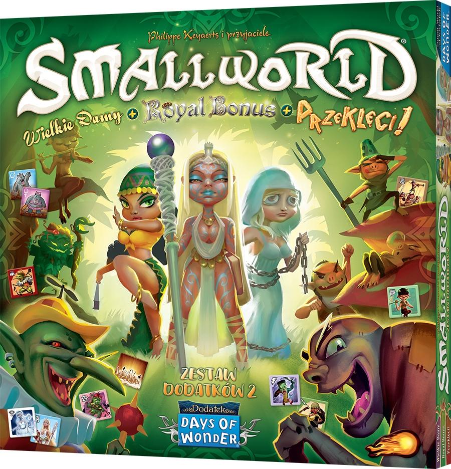 Small World: Zest. dod. 2 - Wielkie damy Royal Bonus Przeklęci