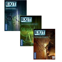 Exit - zestaw trzech gier