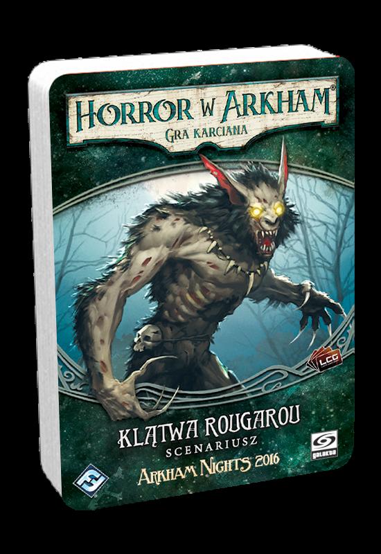 Horror w Arkham: Gra karciana - Klątwa Rougarou DnŻ