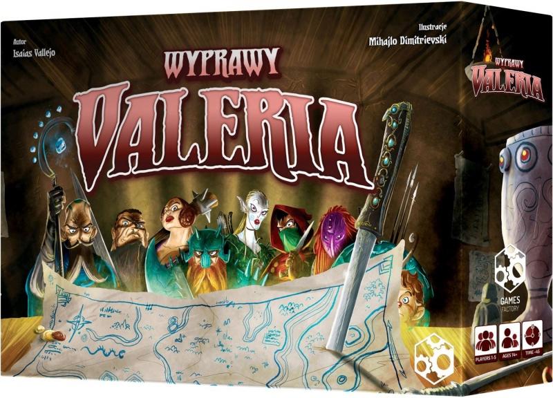 Valeria: Wyprawy (edycja wspieram.to)