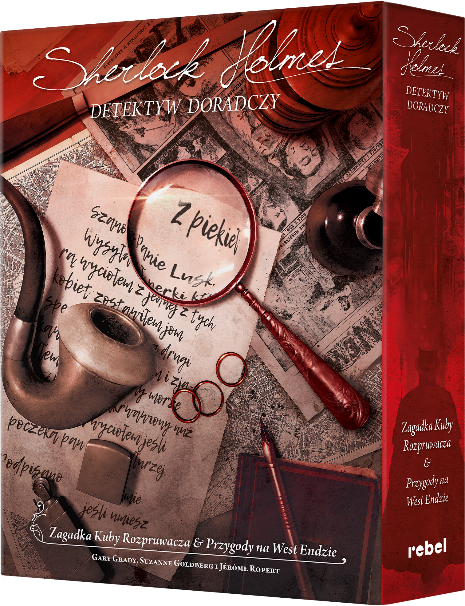 Sherlock Holmes: Detektyw doradczy - Zagadka Kuby Rozpruwacza