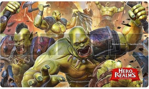 Hero Realms: Rampage Playmat