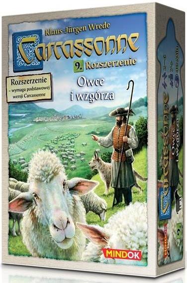 Carcassonne: Owce i Wzgórza (Druga Edycja)