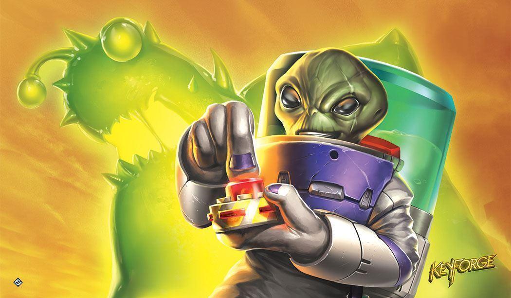 KeyForge Martian Madness Playmat