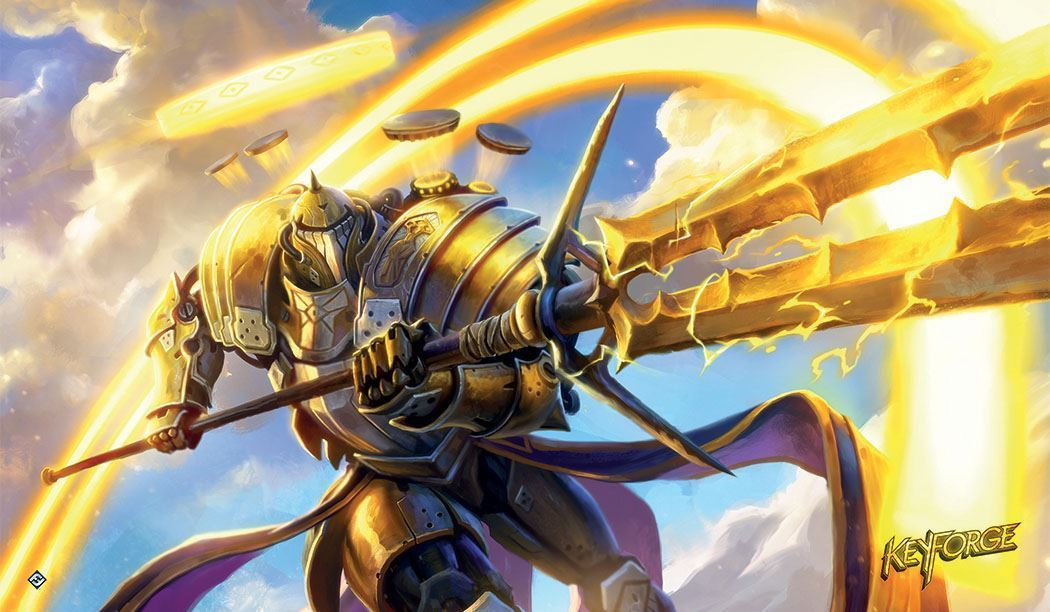 KeyForge Raiding Knight Playmat