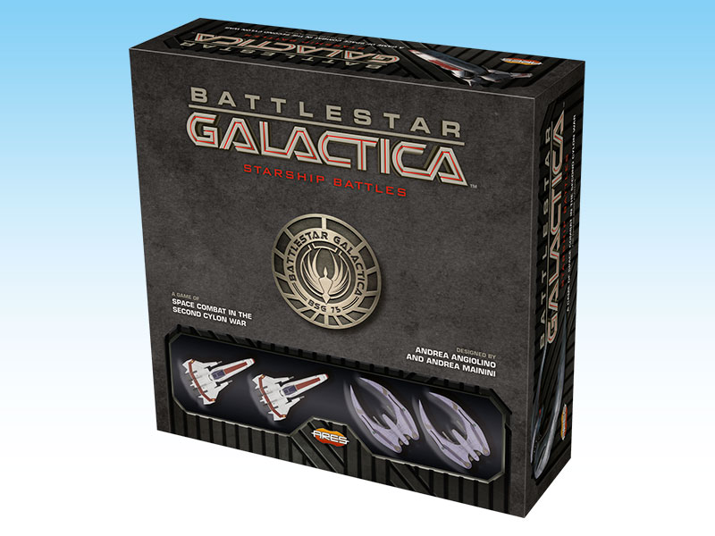 Battlestar Galactica Starship Battles Starter Set