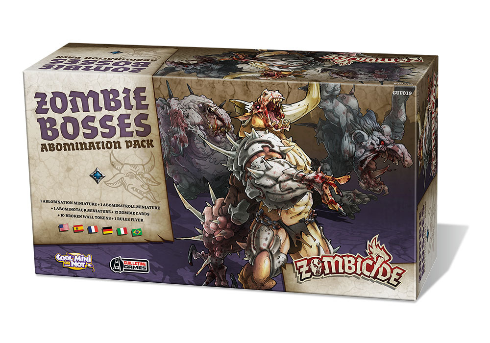 Zombicide: Zestaw Abominacji