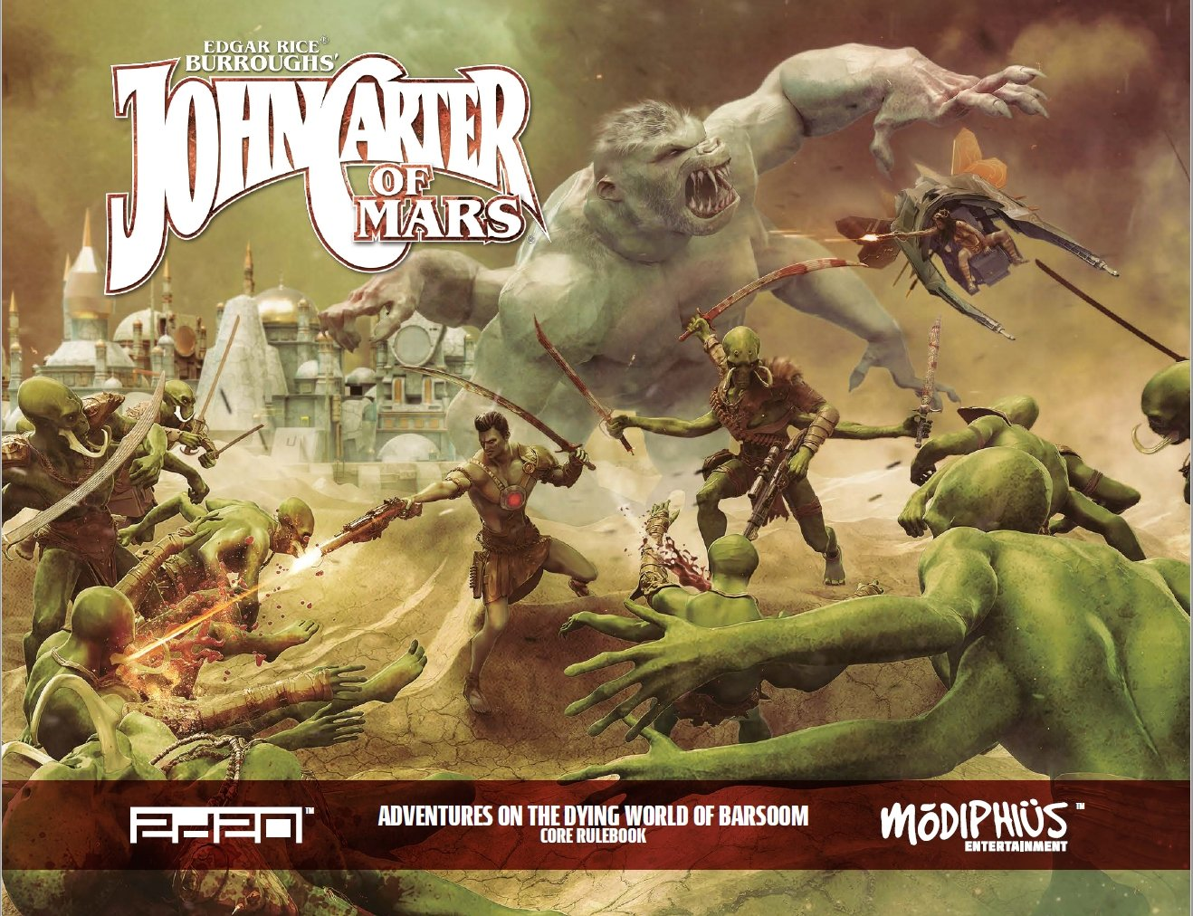 John Carter of Mars Core Rulebook