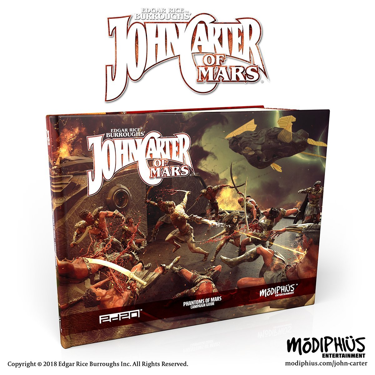 John Carter of Mars: Phantom of Mars