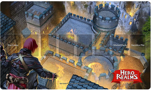 Hero Realms: Fire Bomb Playmat