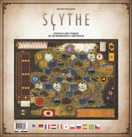Scythe - plansza modularna