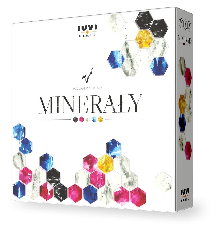 Minerały + zestaw pionków