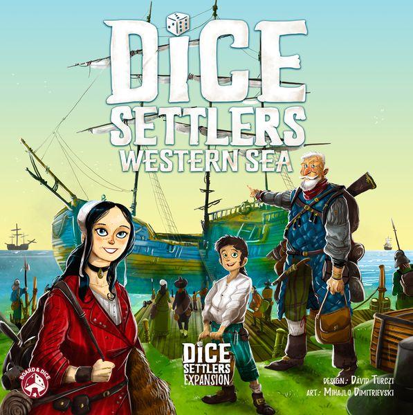 Dice Settlers Western Sea