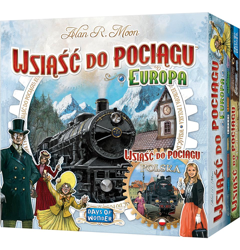 Wsiąść do Pociągu: Europa + Polska
