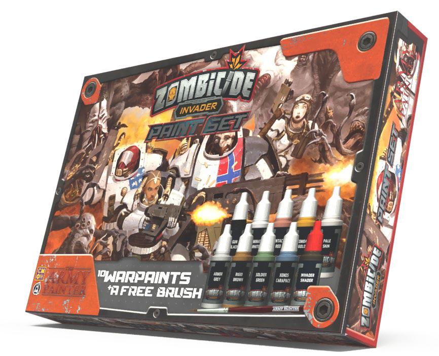Warpaints Invader Paint Set