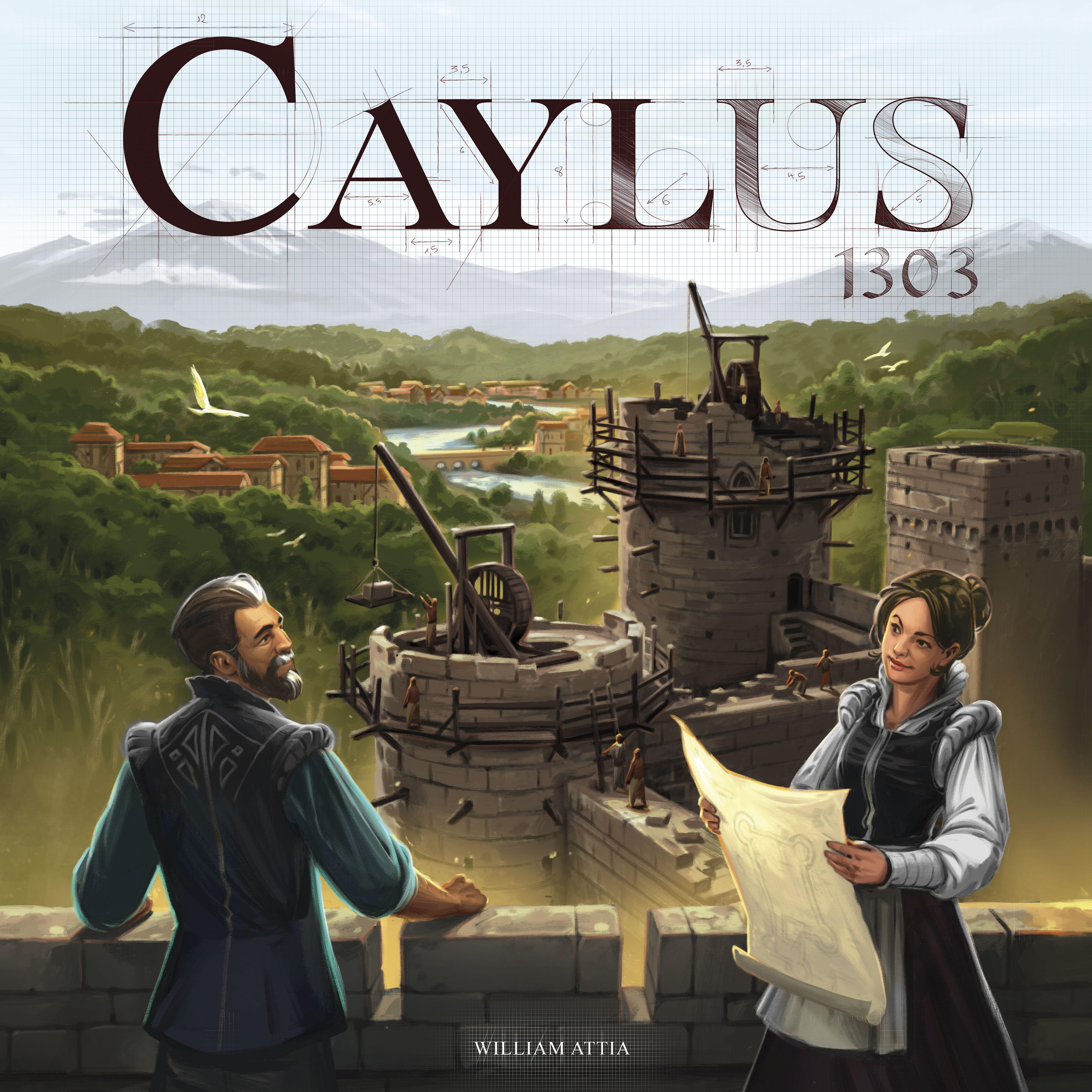 Caylus 1303 (edycja angielska)