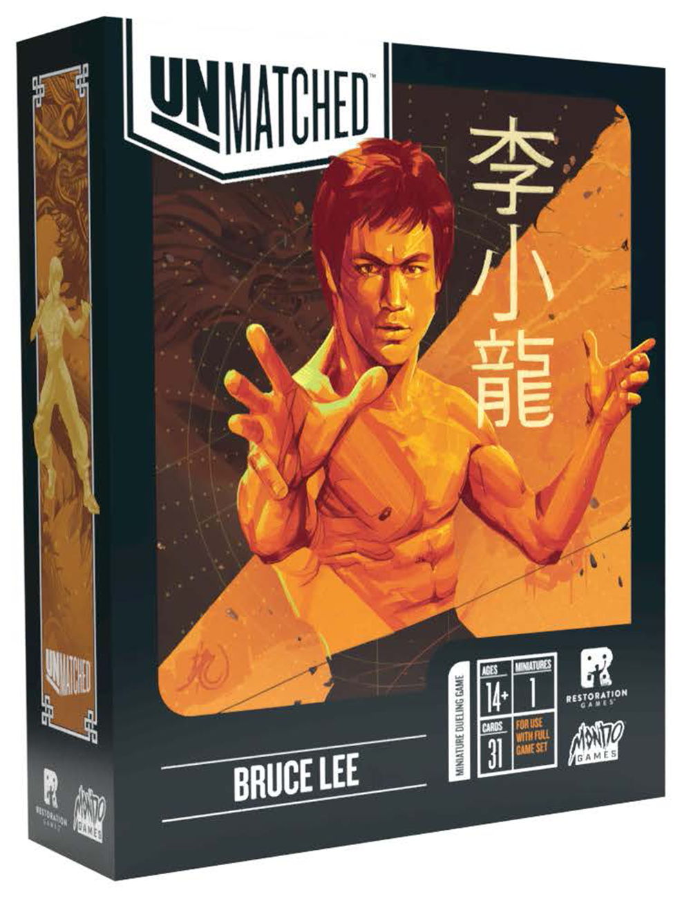 Unmatched Bruce Lee Hero Pack
