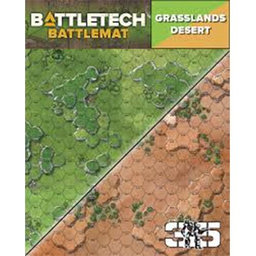 BattleTech Battle Mat Grasslands Desert