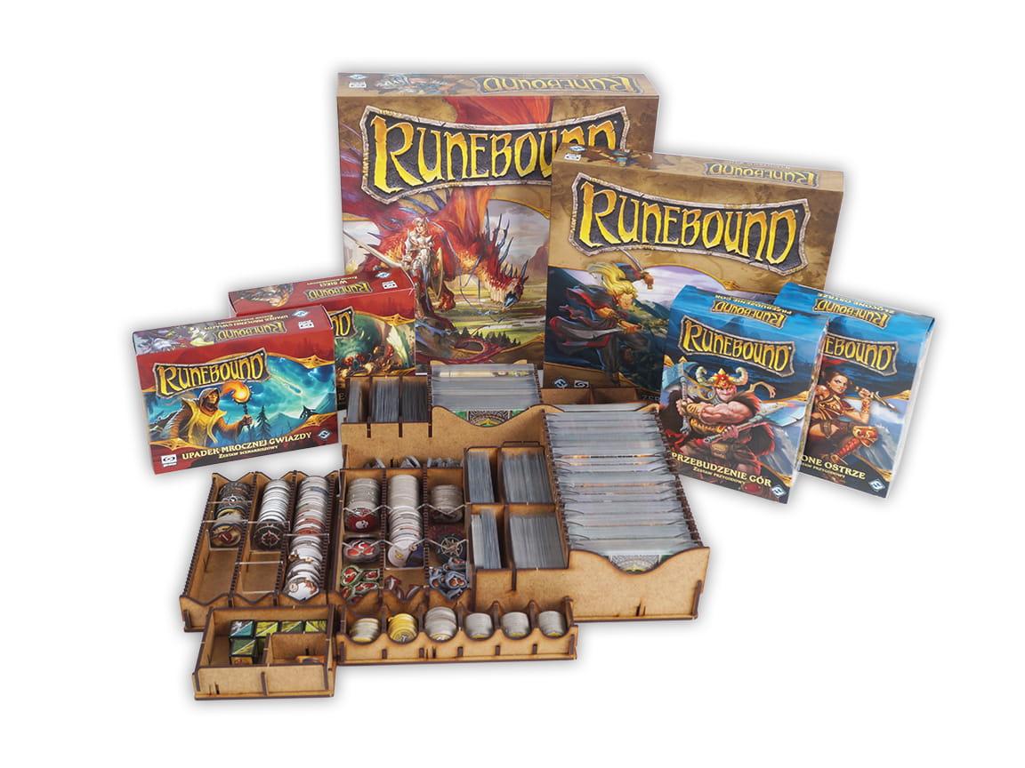 Insert do gry Runebound 3 edycja z dodatkami