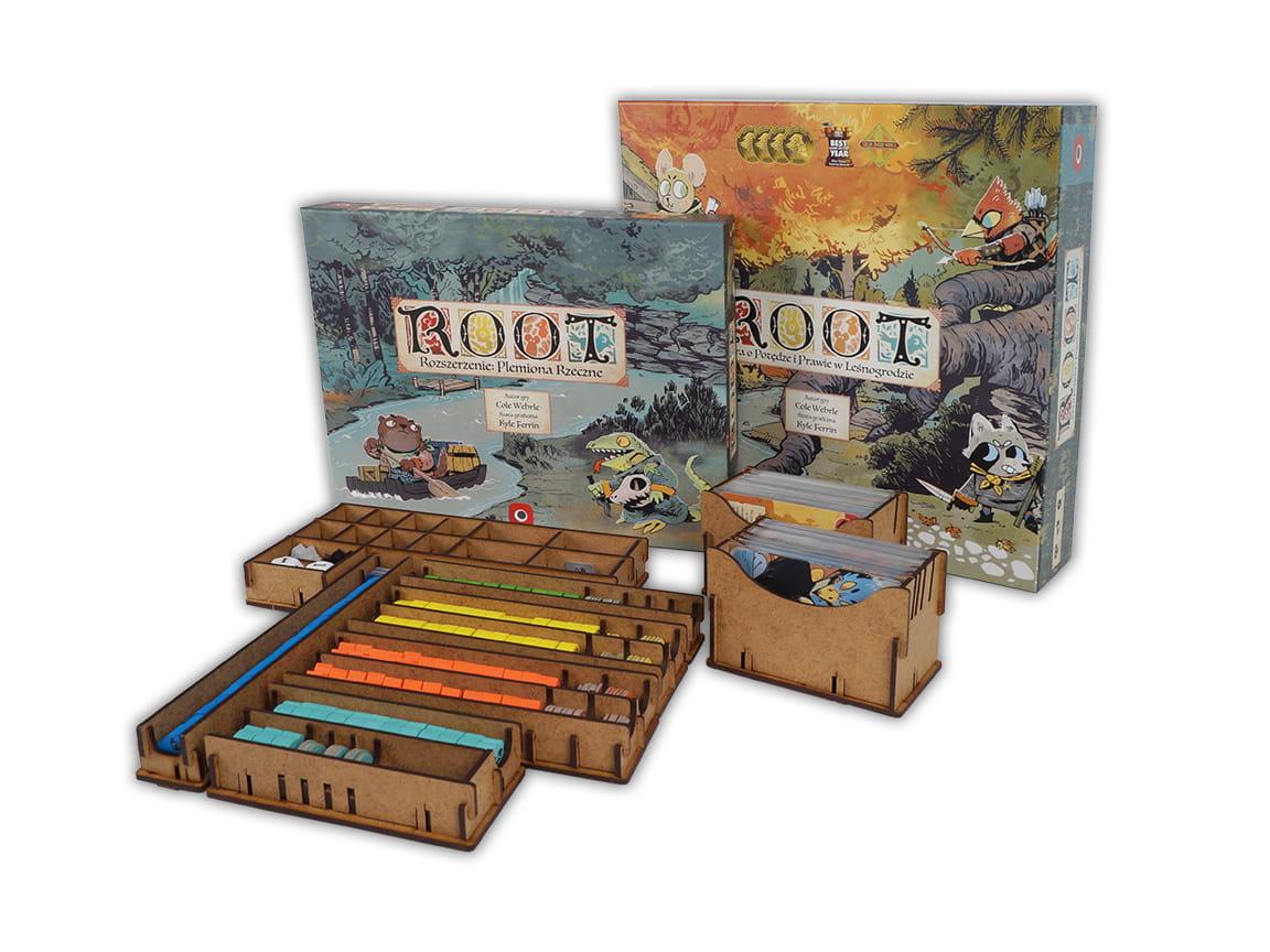 Insert do gry Root oraz dodatku Plemiona Rzeczne