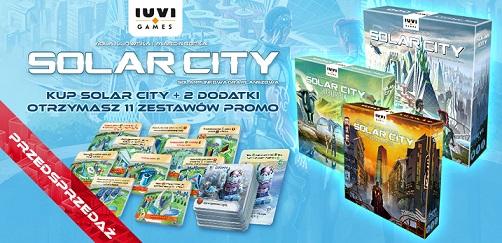Solar City + dwa dodatki (Suburbia oraz Serce Miasta)
