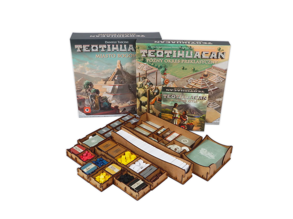 Insert do gry Teotihuacan + dodatki
