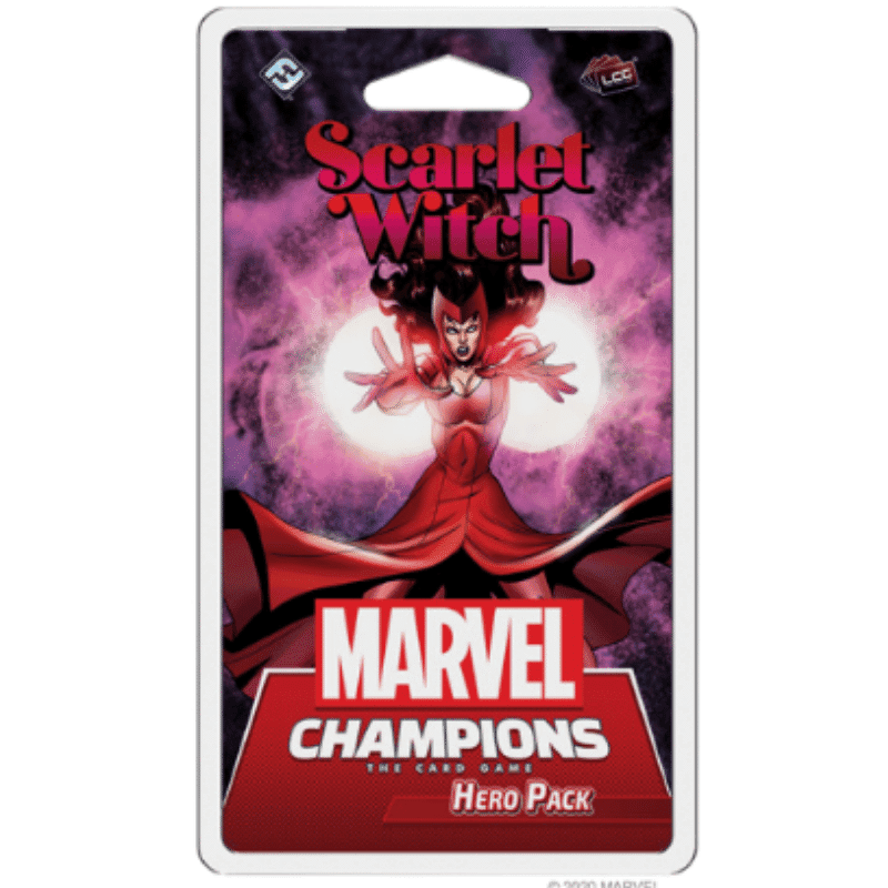 Marvel Champions: The Card Game  Scarlet Witch Hero Pack