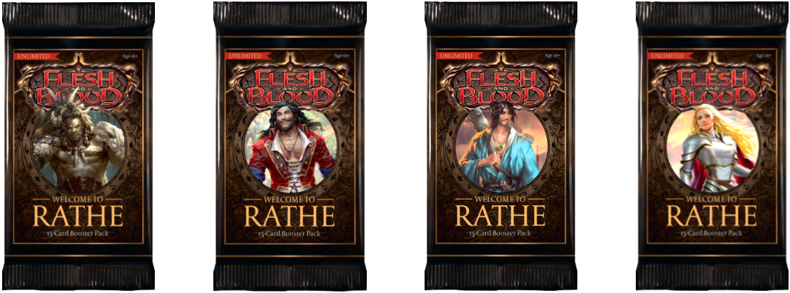 Flesh and Blood TCG: Welcome to Rathe - Booster