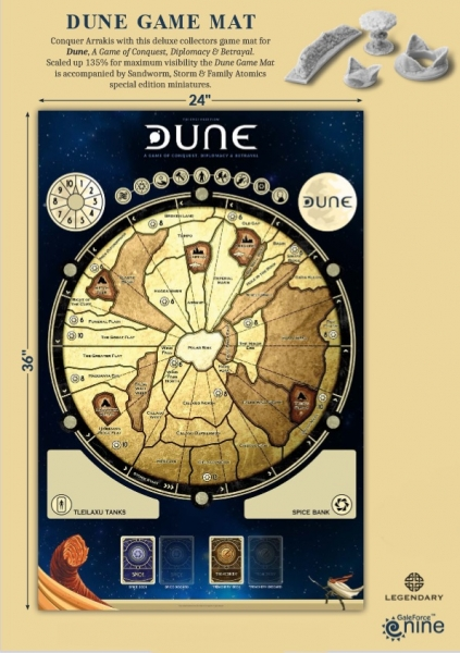 Dune Boardgame Gamemat 36x24