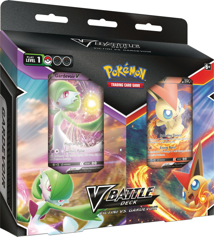 Pokémon TCG: V Battle Deck Bundle May Victini vs. Gardevoir