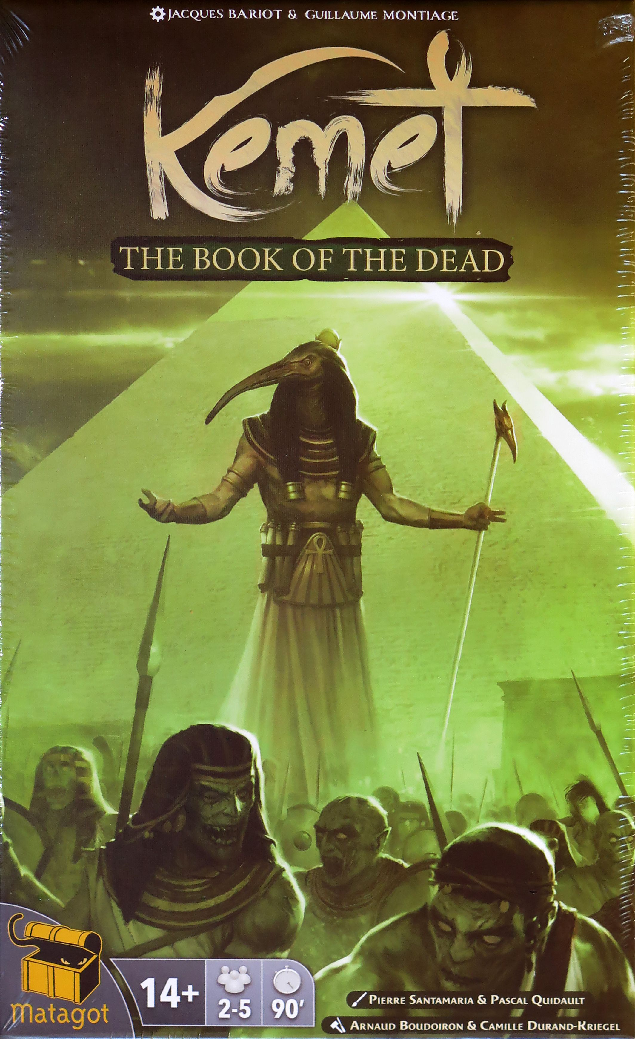 Kemet: Blood and Sand  Book of the Dead